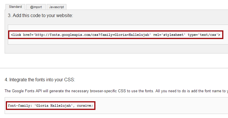 Copy the code to an HTML snippet on your web form. Use style tags to apply the font to your web form.